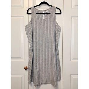 • Old Navy Sleeveless Linen Sheath Dress XL •